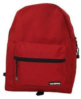 YAK PAK Basic Student Backpack   Red: Shoes