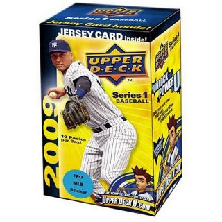 2009 Upper Deck Series 1 Baseball Trading Card Blaster Boxes (Set of 5