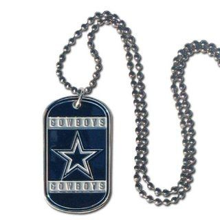 NFL Dallas Cowboys Dog Tag Necklace