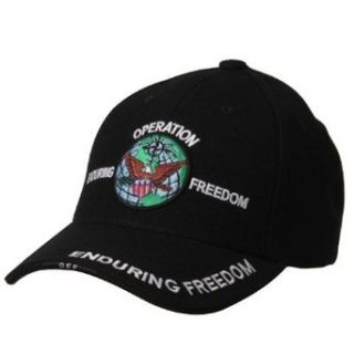 Military Cap Operation Enduring Freedom W38S55F Clothing