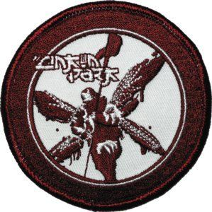 Linkin Park Red Soldier Rock Music Band Logo Embroidered