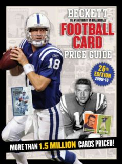 Football Card Price Guide 2010 2011 (Paperback)