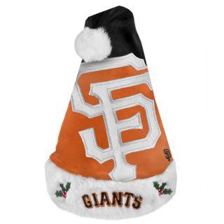 San Francisco Giants 2011 Colorblock Runoff Logo Santa Hat
