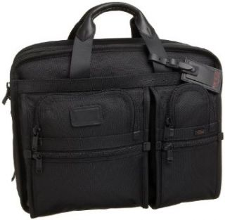 Tumi Alpha Large Expandable Organizer Computer Briefcase