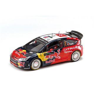 UNIVERS MINIATURE COMPLET Solido Citroën C4 WRC Rallye dIrlande 2009