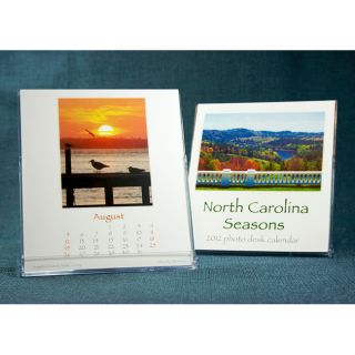 North Carolina Seasons 2012 Desk Calendar