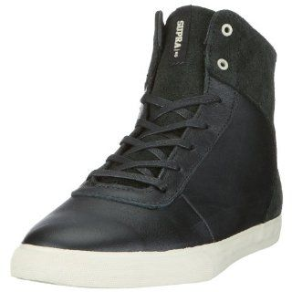 SUPRA Cutler Black Skate Shoes Mens Size 8.5 Shoes