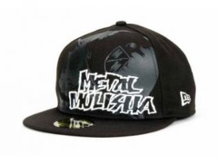 Metal Mulisha Grudge  Mens Hat (7, Black): Clothing