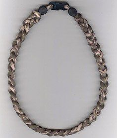 ianium Ionic Braided Necklace   Camouflage Spors