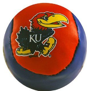 NCAA Kansas Jayhawks Hacky Sack Ball: Sports & Outdoors