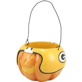 NFL Green Bay Packers Halloween Pumpkin Bucket Sports