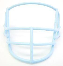 Special Quarterback Columbia Blue MINI Helmet Face Mask