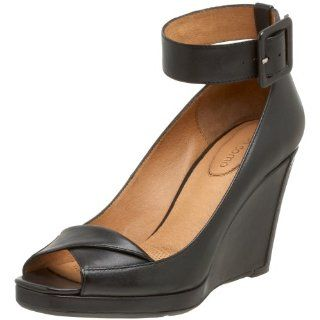 Corso Como Womens Help Wedge,Black,11 M US: Shoes