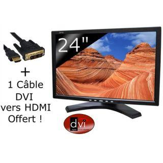 Sensy LCD24NAT + câble HDMI vers DVI I offert    Achat / Vente ECRAN