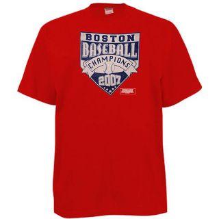 Boston Baseball 2007 Champions Red T shirt
