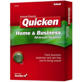 Intuit Quicken 2008 Home & Business