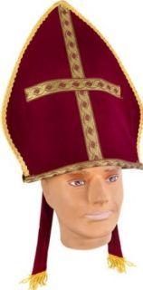 Adult Bishop Costume Hat Clothing