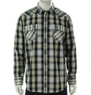 American Rag Long Sleeve Plaid Shirt Seneca Rock XL