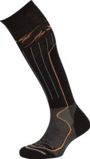 Lorpen Snowboard Merino Wool Socks,Black,Large Clothing