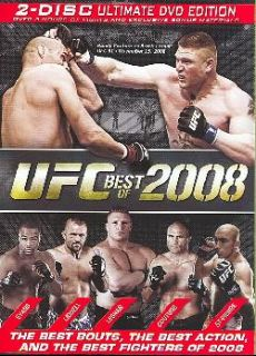 Fighting Championship   UFC Best of 2008 (DVD)