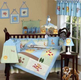 Jungle Safari 12 piece Baby Bedding Set