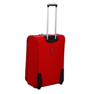 Nautica Steward Red / Grey 4 piece Luggage Set