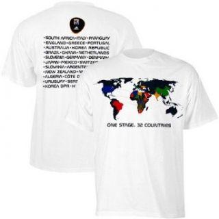 adidas World Cup 2010 Concert T Shirt: Sports & Outdoors