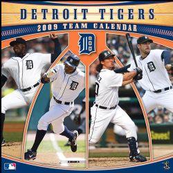 MLB Detroit Tigers 2009 Calendar (Paperback)