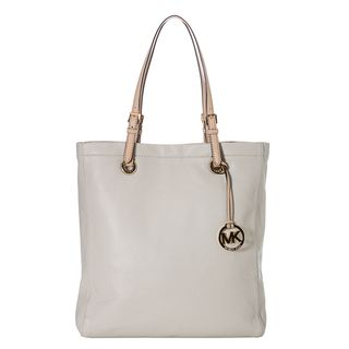 MICHAEL Michael Kors Jet Set Vanilla Leather Tote