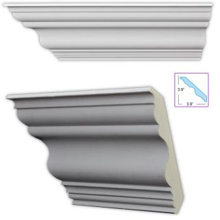 Traditional 5.5 inch Crown Molding (8 pack)