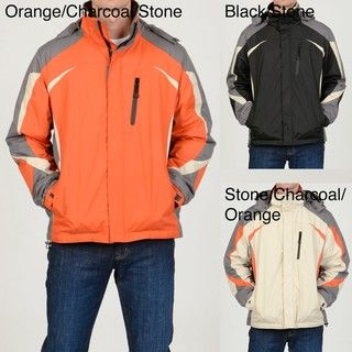 Chaps Mens Fleece lined Hooded Jacket