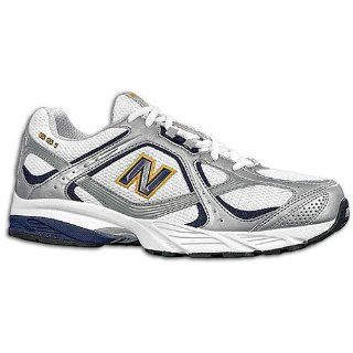 New Balance 661   Mens ( sz. 09.5, White/Navy/Yellow ) Shoes