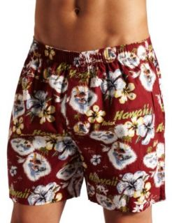 Tommy Bahama Mens Paradise Postcard Boxer Brief Clothing