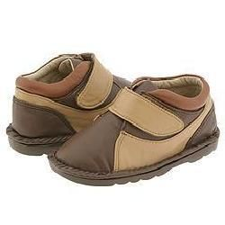 Jumping Jacks Jake (Infant/Toddler) Chocolate Brown Leather W/Light