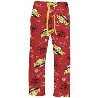 Big Bang Theory Red Bazinga Lounge Pants (X Large