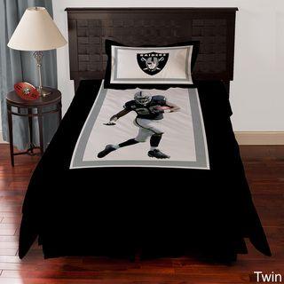 Oakland Raiders Darren Mcfadden 4 piece Comforter Set