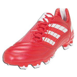Soccer Shoes (RADIANT RED PRED RUN WHITE BLACK MET SILVER) Shoes