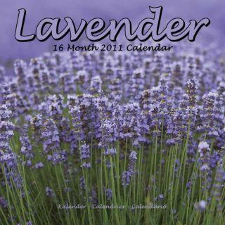 LAVENDER 2011 Wall Calendar