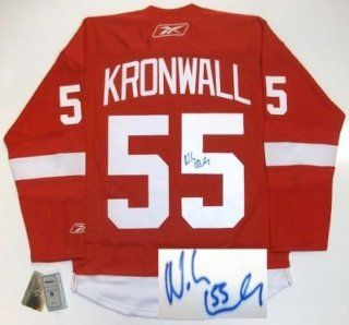 Niklas Kronwall Signed Jersey   Rbk Sports & Outdoors