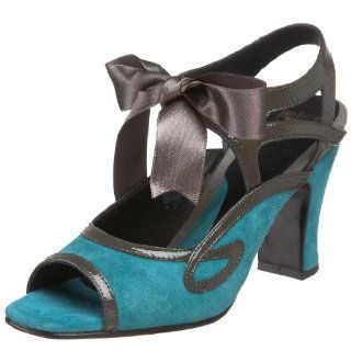 John Fluevog Womens Fatima Pump,Turquoise,11 M US Shoes