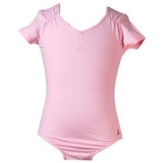 New Capezio Little Girls Pink Dance Leotard Girl 8 10