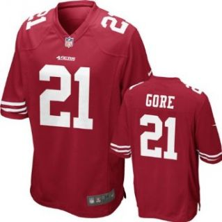 San Francisco 49ers Frank Gore Red Nike Youth Replica Game