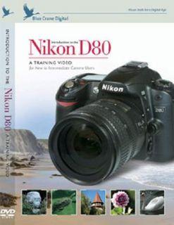 Nikon D80 Digital Camera Training Guide DVD