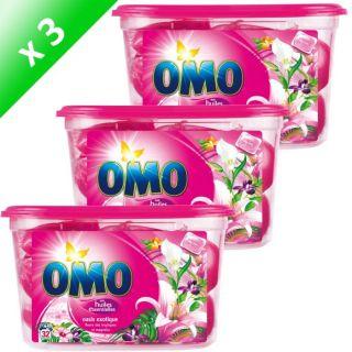 OMO Lessive capsules Oasis exoique 32 lavages x3   Acha / Vene