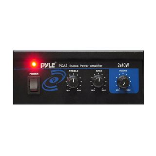 Pyle Mini 40 watt Car Stereo Power Amplifier