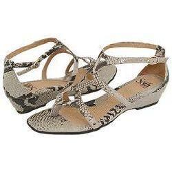 Sofft Riona Off White Python Sandals
