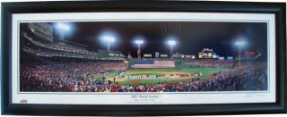 Boston Red Sox 2007 World Series Photo Print