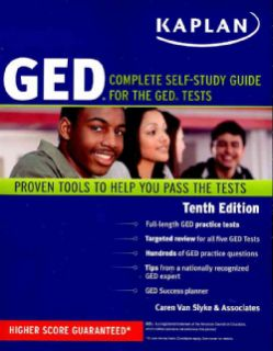 Kaplan GED Complete Self Study Guide for the GED Tests, Proven Tools