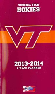 Virginia Tech Hokies College 2013 14 2 Year Planner (Calendar