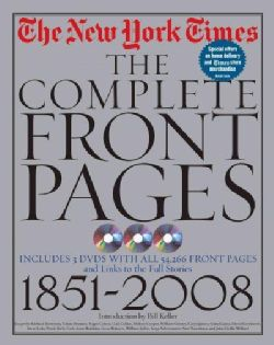 The Complete Front Pages  1851 2008 (Hardcover)